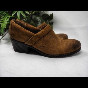"Born Concepts ""Somethin"" Brown Leather Mocs Shoes"